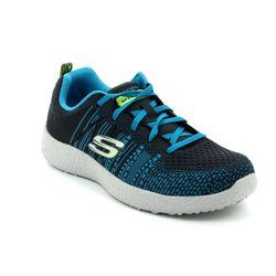 Skechers Boys Shoes - Charcoal - 97303/056 BURST