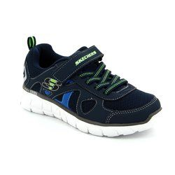 Skechers Boys Shoes - Navy multi - 99809/216 VIM SPEED THRU