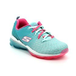 Skechers Girls Shoes - Aqua-pink - 81195/906 SKECHAIR DELUX
