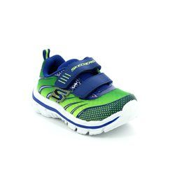 Skechers Boys 1st Shoes & Prewalkers - Lime multi - 95344/781 TOP SPEED