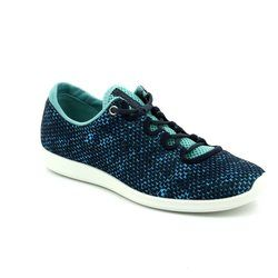 ECCO Trainers & Canvas - Navy multi - 284043/50561 SENSE SKECH