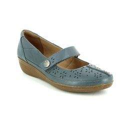 Clarks Everyday Shoes - Denim blue - 2441/44D EVERLAY BAI