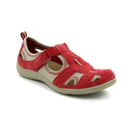 Earth Spirit Everyday Shoes - Red - 24008/80 MADISON
