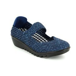 Adesso Trainers & Canvas - Navy - A3780/70 MAY