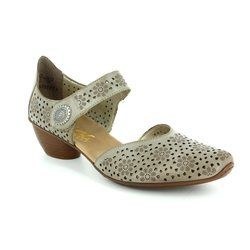 Rieker Everyday Shoes - Light taupe - 43711-62 MIROPI