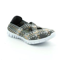 Adesso Trainers & Canvas - Grey multi - A3729/00 MILA