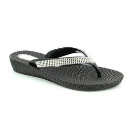 Heavenly Feet Sandals - Black - 5003/30 MARTINI