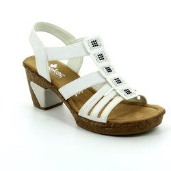 Rieker Sandals - Off white - 69761-80 ROBSQUARE
