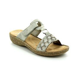 Rieker Sandals - Off white - 65834-40 REGINAPE