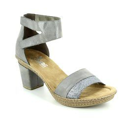 Rieker Sandals - Metallic multi - 66544-90 ROBANK