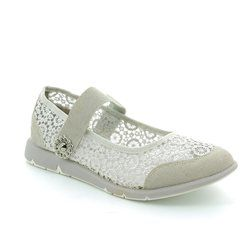 Heavenly Feet Trainers & Canvas - Light grey - 7012/00 ANGELIC
