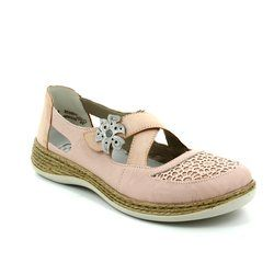 Rieker Everyday Shoes - Pink - 464H0-31 DAISMAC