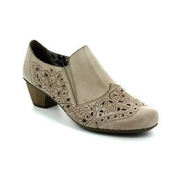 Rieker Heeled Shoes - Beige - 41757-60 SARBONE