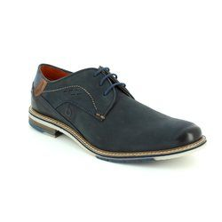 Bugatti Shoes - Navy nubuck - 25902/4100 ADAMO