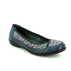 Alpina Pumps & Ballerinas - Navy multi - 0P13/A DIXIFLO