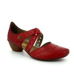 Rieker Everyday Shoes - Red - 43703-33 MIROC