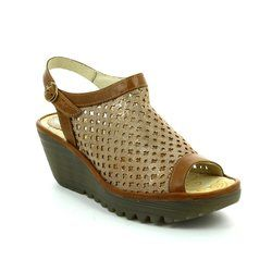Fly London Sandals - Pewter multi - P5007340007 YUTI