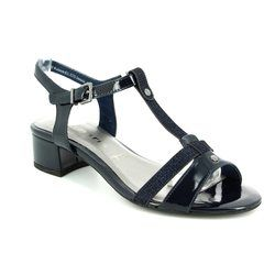 Tamaris Heeled Shoes - Navy - 28220/890 EMILIA