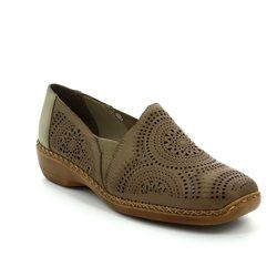 Rieker Everyday Shoes - Taupe - 41395-20 DORISLIP