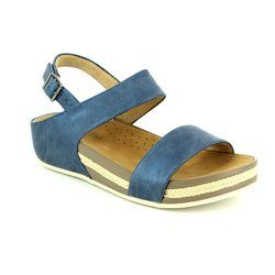 Heavenly Feet Sandals - Navy - 7007/70 NADIA