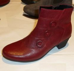 Gabor Boots - Short - Dark Red - 74.695.55 OPRAH
