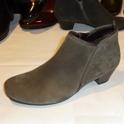 Gabor Boots - Short - Taupe suede - 75.633.13 TRUDY