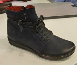 Relaxshoe Boots - Short - Navy nubuck - 215154/70 CALYHIZE