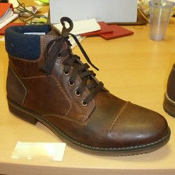 Rieker Boots - Brown - F3920-23 SAMMY