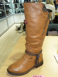 Rieker Boots - Long - Tan - 94758-24 FRESCO