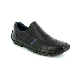 Rieker Shoes - Black - 08985-00 GARRIT