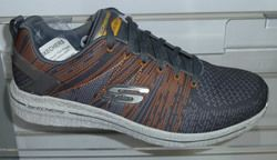 Skechers Trainers & Canvas - Charcoal grey - 52615/213 BURST 2