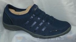 Skechers Everyday Shoes - Navy - 23103/417 EMPRESS