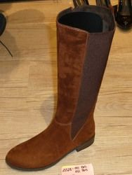 Marco Tozzi Boots - Long - Tan suede - 25528/892 RAPALONG
