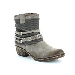 Rieker Boots - Ankle - Taupe multi - K1493-25 BERNATANG