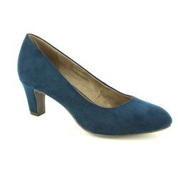 Tamaris Heeled Shoes - Navy - 22418/803 CAXIAS