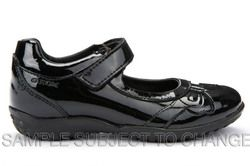 Geox Girls Shoes - Black patent - J54A6A/C9999 SHADOW A