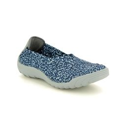 Adesso Trainers - Navy multi - A4868/70 CAITLIN 91