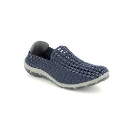 Adesso Trainers - Navy suede - A4321/70 LAYLA  81