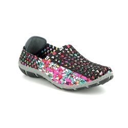 Adesso Trainers - Black multi - A4852/31 LAYLA  91
