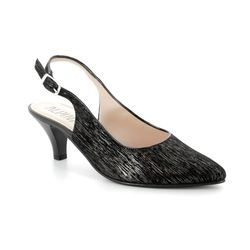 Alpina Court Shoes - Black patent suede - 9I31/I LATINA 81
