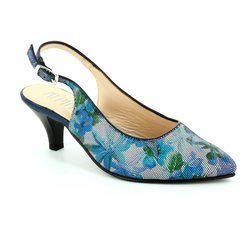 Alpina Heeled Shoes - Blue multi - 9I31/B LATINA
