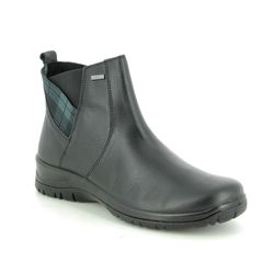 Alpina Boots - Ankle - Black leather - 4265/1 RONYTAR TEX
