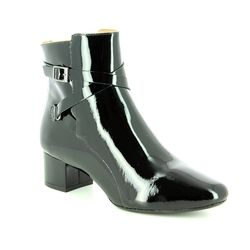Begg Exclusive Ankle Boots - Black patent - 11204/40 ECLIPSED
