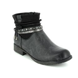 Antonio Dolfi Boots - Short - Black - 225382/80 KRISTON