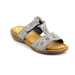 Begg Exclusive Sandals - Pewter - 521501/99 REGENGST