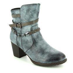 Begg Shoes Boots - Ankle - Blue - 225355/41 SARAST