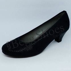 Ara Court Shoes - Black suede - 64245/01 AUCKLAND