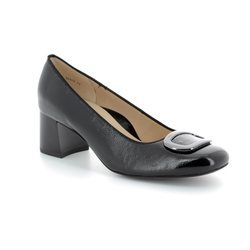 Ara Court Shoes - Black patent - 35548/09 BRIGHTON