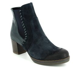 Ara Boots - Ankle - Navy suede - 46957/75 FLORENZ