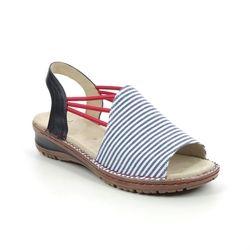 Ara Comfortable Sandals - Blue - 27241/79 HAWAII KORSIKA